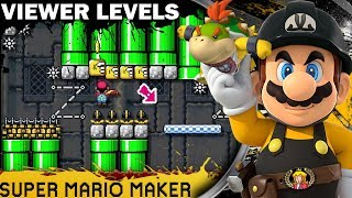 Live  Viewer Levels / Kaizo Race | Super Mario Maker