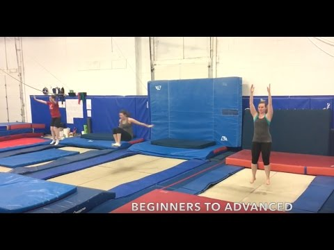 Adult Trampoline Classes (18+ years) - Pickering Athletic Centre - Pickering, ON