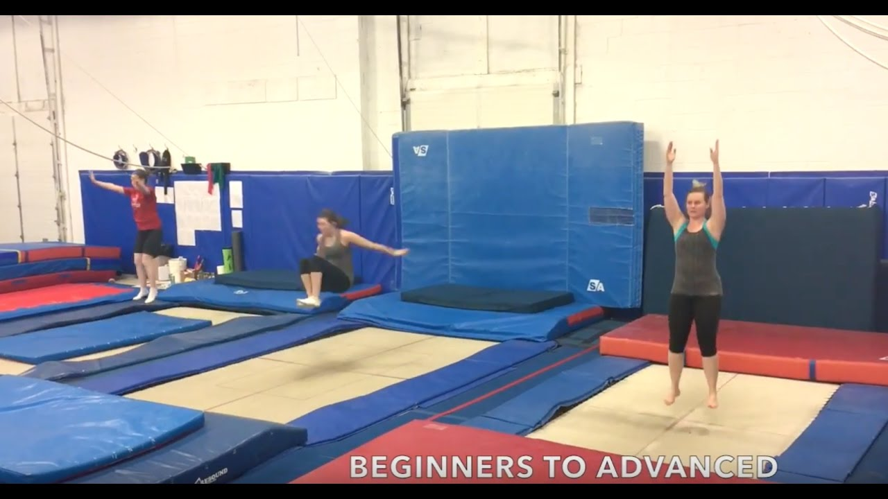 adult trampoline classes 18 years pickering athletic centre pickering on