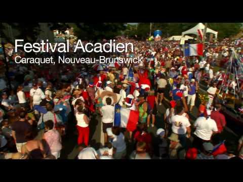 Festival Acadien - Caraquet, Nouveau-Brunswick, Canada