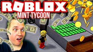 DRÜCKEN ROBUX UND NOTIZEN! 💵:: Roblox Mint Tycoon Englisch-Ep. 5