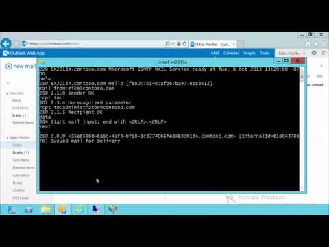 Core Solutions of Exchange Server 2013, Part 4   Configuring the Message Transport