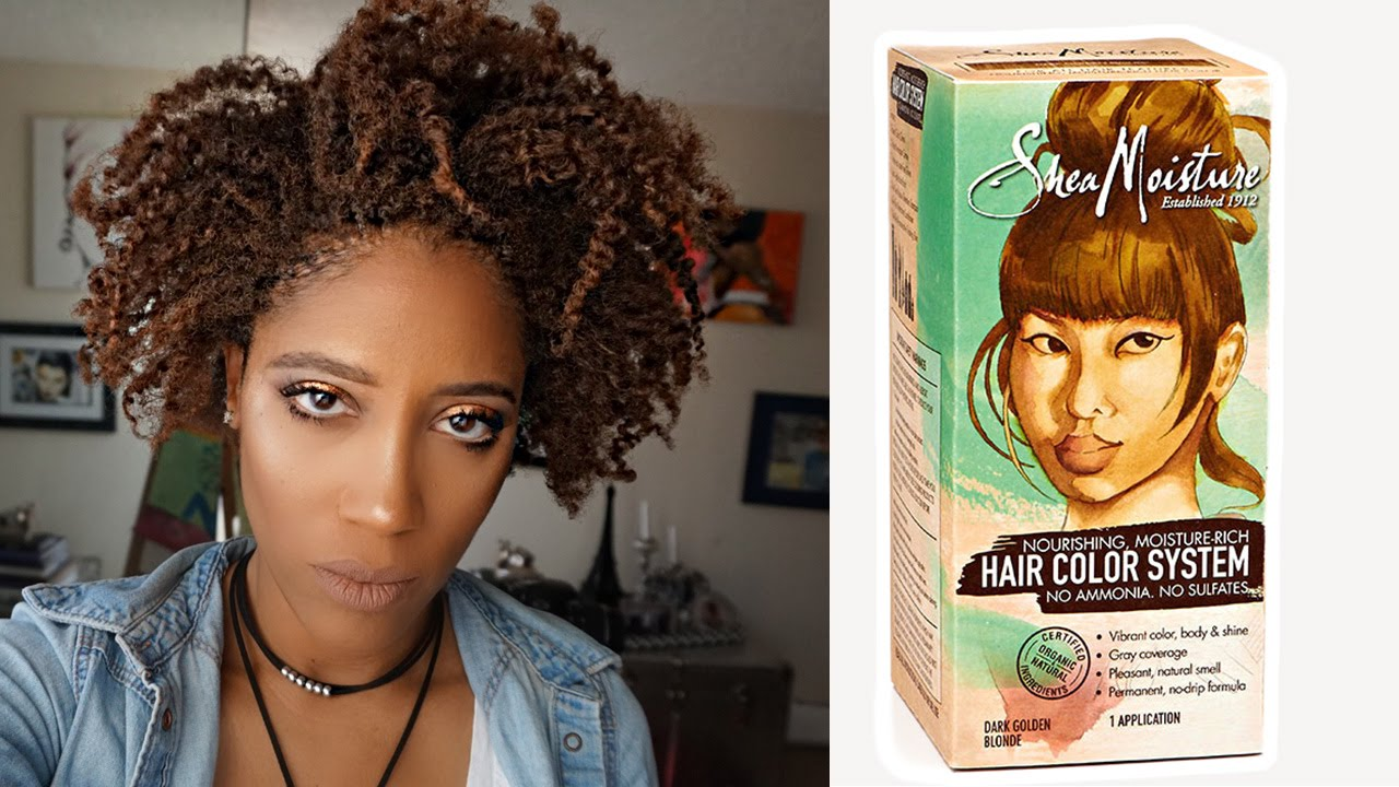 Shea Moisture Hair Color System   Mygotwos - YouTube