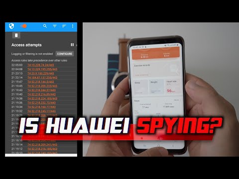 Is Huawei SPYING? 🤔 INVESTIGATING Huawei Health's Privacy On Android