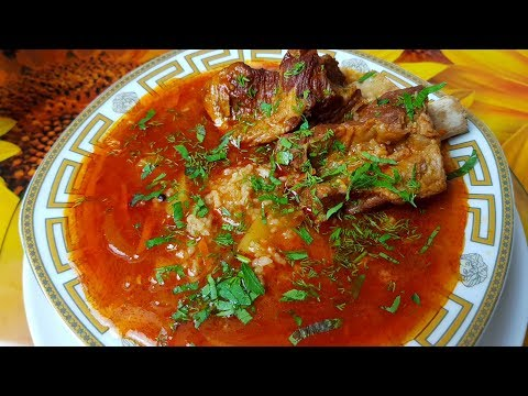 Суп Харчо по-цыгански. Gipsy cuisine.🥣👍 - Как поздравить с Днем Рождения