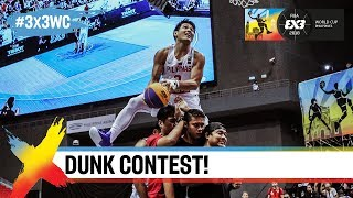 FIBA 3x3 World Cup Dunk Contest Qualifier Highlights ft. Guy Dupuy + worlds' best dunkers