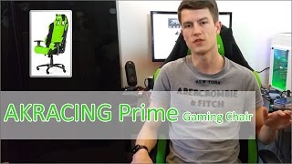 AKRACING Prime Gaming Chair Hands on
