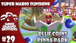 John Plays: Super Mario Sunshine - Part 29   Pinna Park Blue Coins