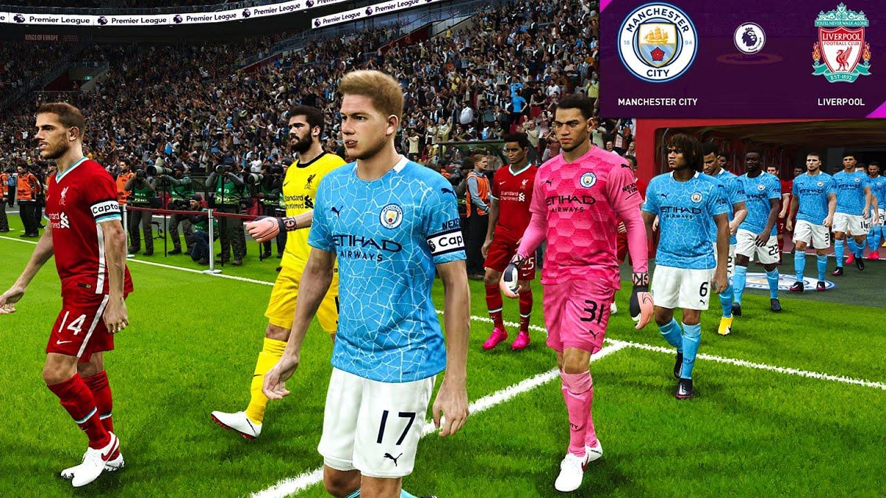 Manchester City vs Liverpool - Premier League 2020/21 ...
