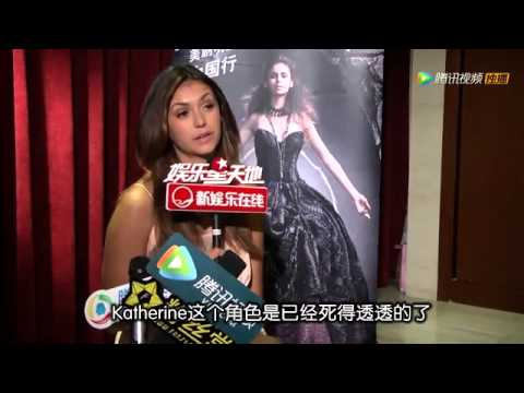 Nina Dobrev Interview, Beijing, China