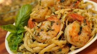 In The Kitchen With Ken: Pesto, Pasta And Shrimp