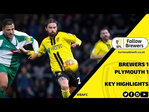 MATCH HIGHLIGHTS | Burton Albion 1-1 Plymouth Argykel