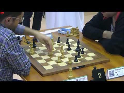GM Aronian (Armenia) - GM Nepomniachtchi (Russia)