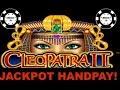 ⭐️HANDPAY HIGH LIMIT CLEOPATRA 2 ⭐️(2) $40 MAX BET BONUSES ...