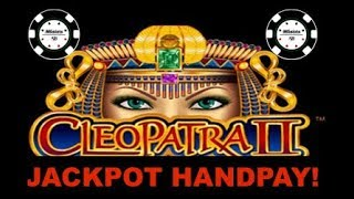 ⭐️HANDPAY HIGH LIMIT CLEOPATRA 2 ⭐️(2) $40 MAX BET BONUSES ON CLEO 2 SLOT MACHINE  ⭐️MOHEGAN SUN