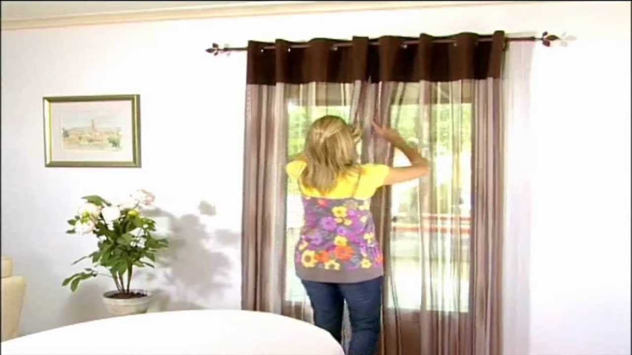 tringle rideau sans percer fixrod secodir