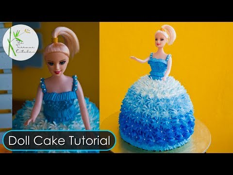 Doll Cake Tutorial ~ By The Terrace Kitchen
