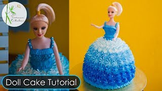 Doll Cake Tutorial  By The Terrace Kitchen