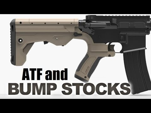Stop ATF Bump Stock Reclassification!