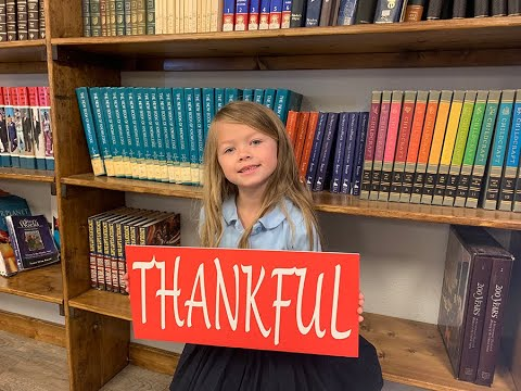 Thankful at Alpine Christian School