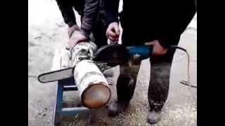 Цепная пила из болгарки(, 2014-02-28T14:48:10.000Z)