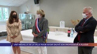 Yvelines | Une médaille de la ville pour avoir sauvé son professeur à Plaisir