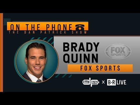 FOX Sports' Brady Quinn Talks Top Draft QBs, USC-Notre Dame & More With Dan Patrick | Full Interview