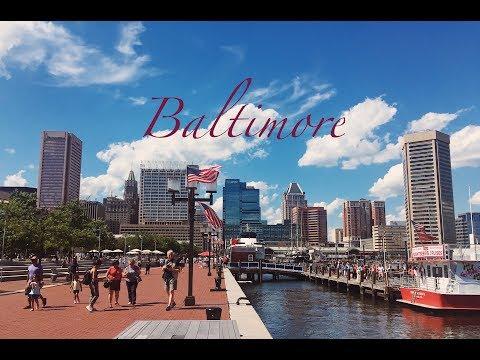 Travel Vlog   Baltimore