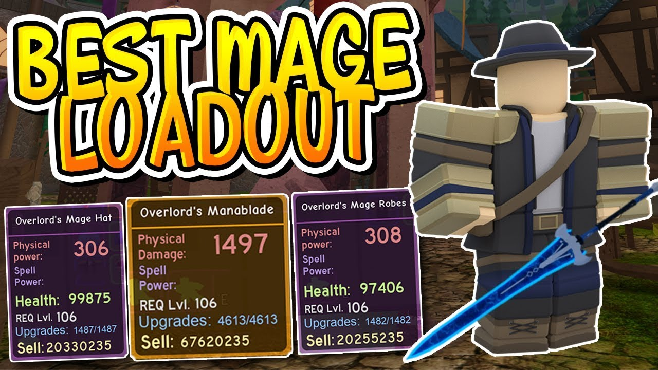 The Canals Best Mage Load Out 174k Legendary In Dungeon Quest