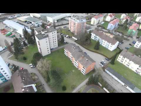 UHD 4K - Krumbach aus der Luft - Testaufnahmen mit unserer neuen Drohne in 4K Qualität