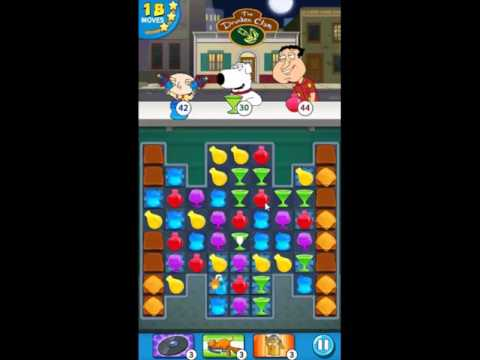 Family Guy Another Freakin Mobile Game Level 36 - NO BOOSTERS