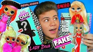 лУЧШИЕ ПОДДЕЛКИ на #LOL OMG!   Куклы Фэйк VS Оригинал / Обзор от Биги