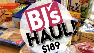 BJ'S WHOLESALE GROCERY HAUL MAY 2019