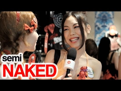 semiNAKED in Red|Ask Semi Naked Japanese girls which Pickup lines really work