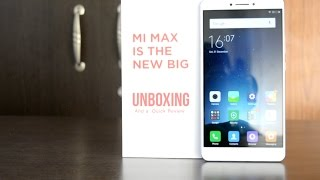 Xiaomi Mi Max (Silver color) Unboxing, review and build quality, Software, UI, Camera test