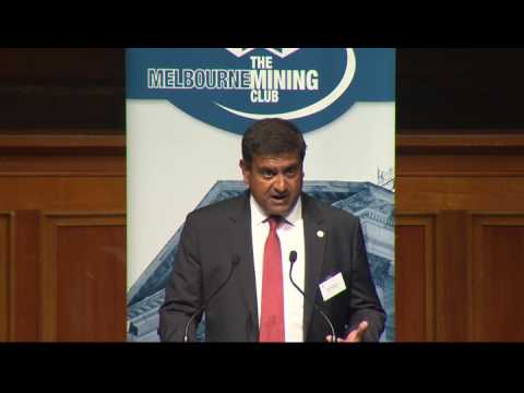 Sandeed Biswas, CEO, Newcrest Mining, Melbourne Mining Club February 9, 2017