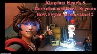 Kingdom Hearts 3 Big Hero 6 San Fransokyo World Part 2 Darkubes And Dark Baymax Boss Fight