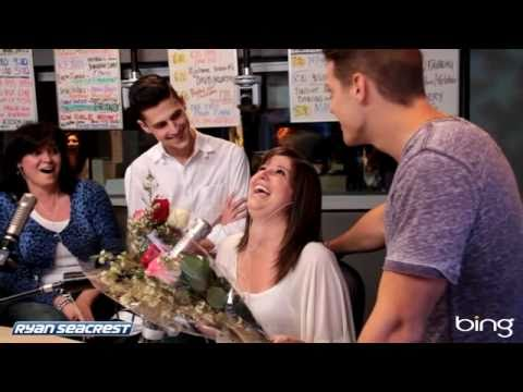 Girl Gets Surprise From Stars Greg Finley and Ken Baumann | Interview | On Air With Ryan Seacrest