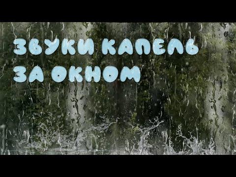 Тем, кто любит #дождь за окном. #Звуки капель.