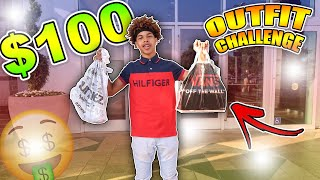 $100 OUTFIT CHALLENGE🤑  *IMPOSSIBLE!?*  (ft. Lil Rillo)🔥🖖🏽