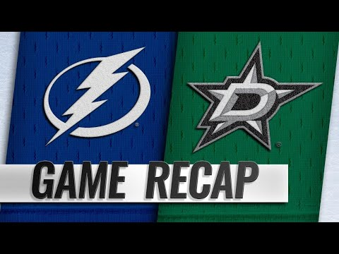 Vasilevskiy leads Lightning to 2-0 shutout win
