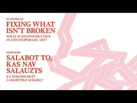 FIXING WHAT ISN'T BROKEN - PART 1 - Vivian van Saaze