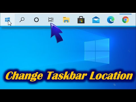 How To Move Taskbar In Windows 10