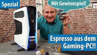 Dieser Gaming-PC kann KAFFEE KOCHEN!! ZOTAC MEKpresso #Gewinnspiel #Giveaway