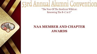 Day 1.4  NAA MEMBER AND CHAPTER AWARDs