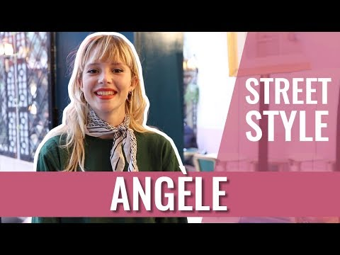 STREET STYLE — ANGÈLE