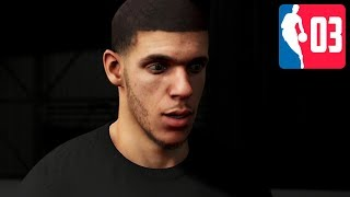 Chillin' with Lonzo Ball - NBA 2K20 My Player Career Part 3