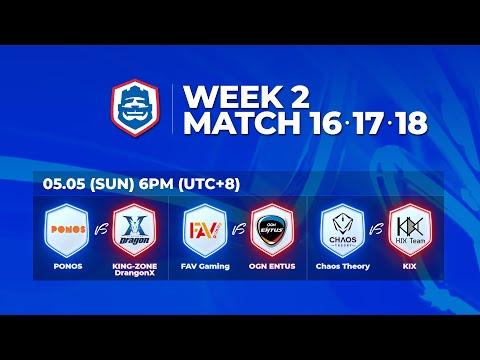 2019 CRL 亞洲賽區 S1 - 季賽第2週第3天