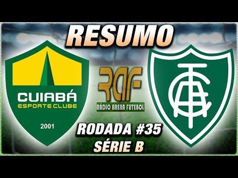 Cuiabá 0 x 2 América-MG l Campeonato Brasileiro Série B l Rodada 35