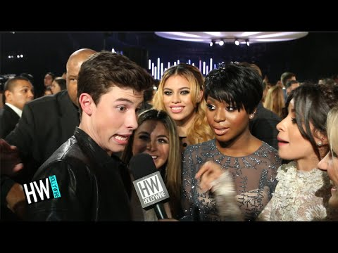 Fifth Harmony Crashes Shawn Mendes Interview! (VMAs 2015)